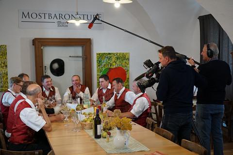 Der ORF bei den Baronen