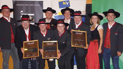 Falstaff Most-Trophy, Mostbarone räumen ab!
