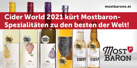 Medaillenregen für die Mostbarone bei der Ciderworld Frankfurt